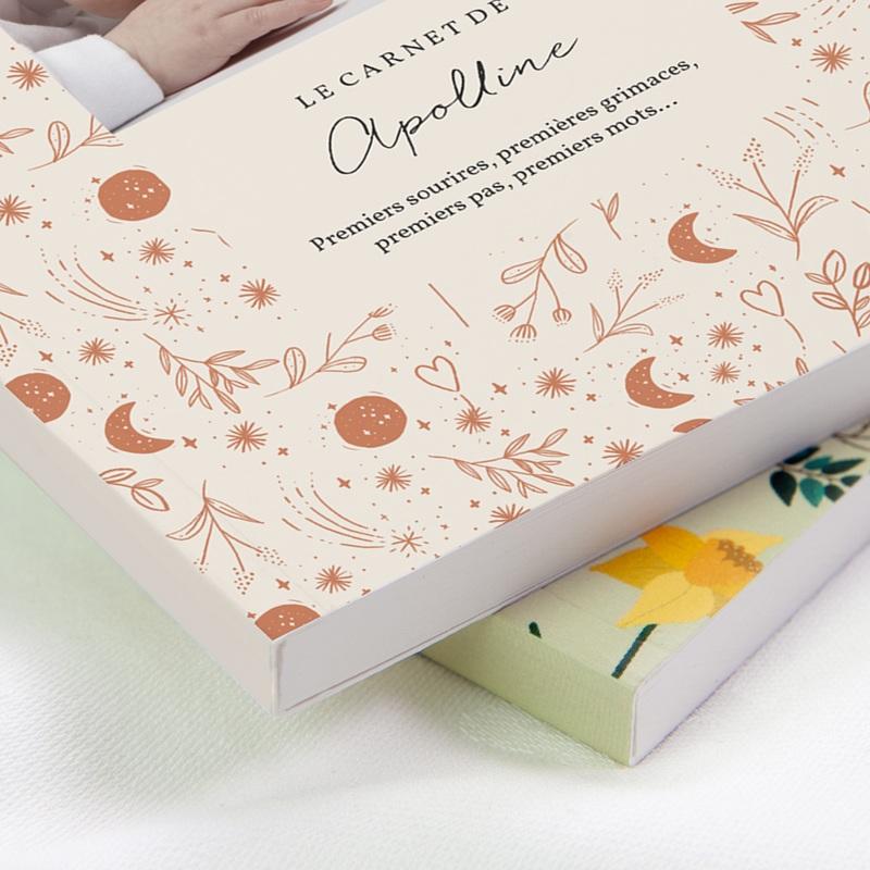 Carnet de Note Ode à la nature, Couverture Souple