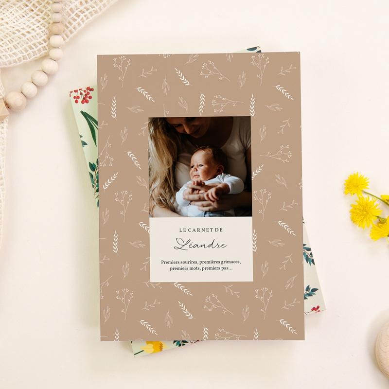 Carnet de Note Champêtre Liberty sable, Souple A5 gratuit