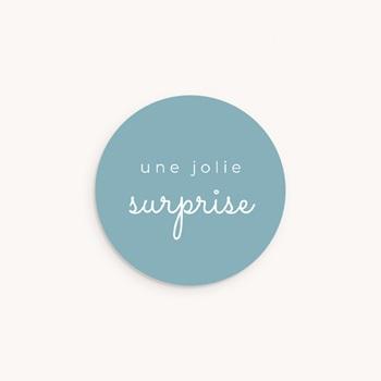 Sticker Enveloppe Naissance Un ami à apprivoiser personnalisé