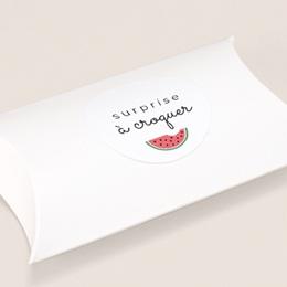 Sticker Enveloppe Naissance Tutti Frutti, ø 4,5 cm