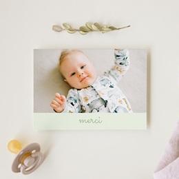 Carte de Remerciement Naissance Le Petit Prince décroche la Lune gratuit
