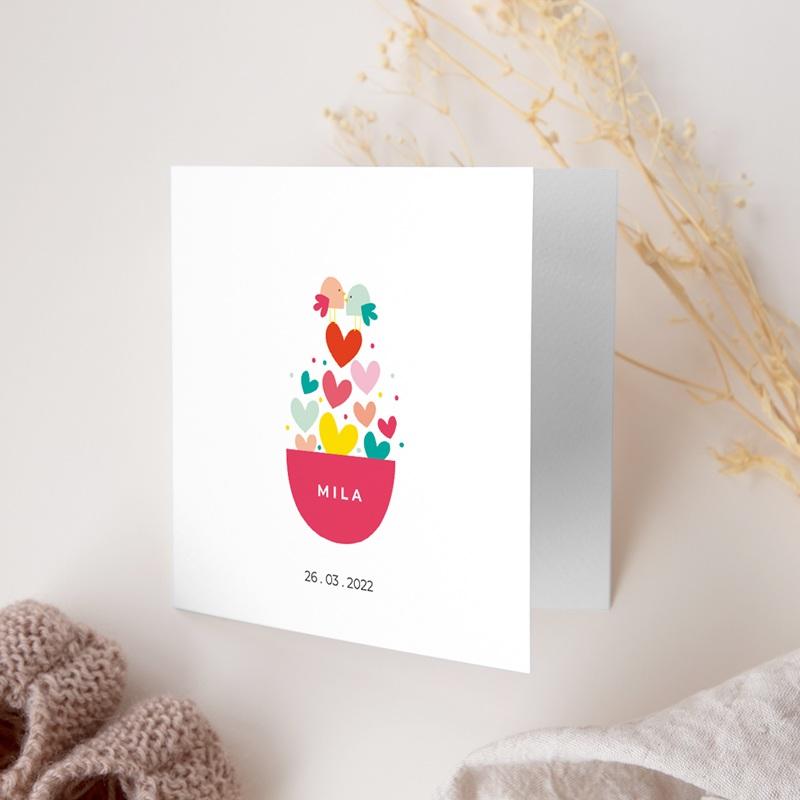 Faire-part de Naissance Dose d'amour gratuit
