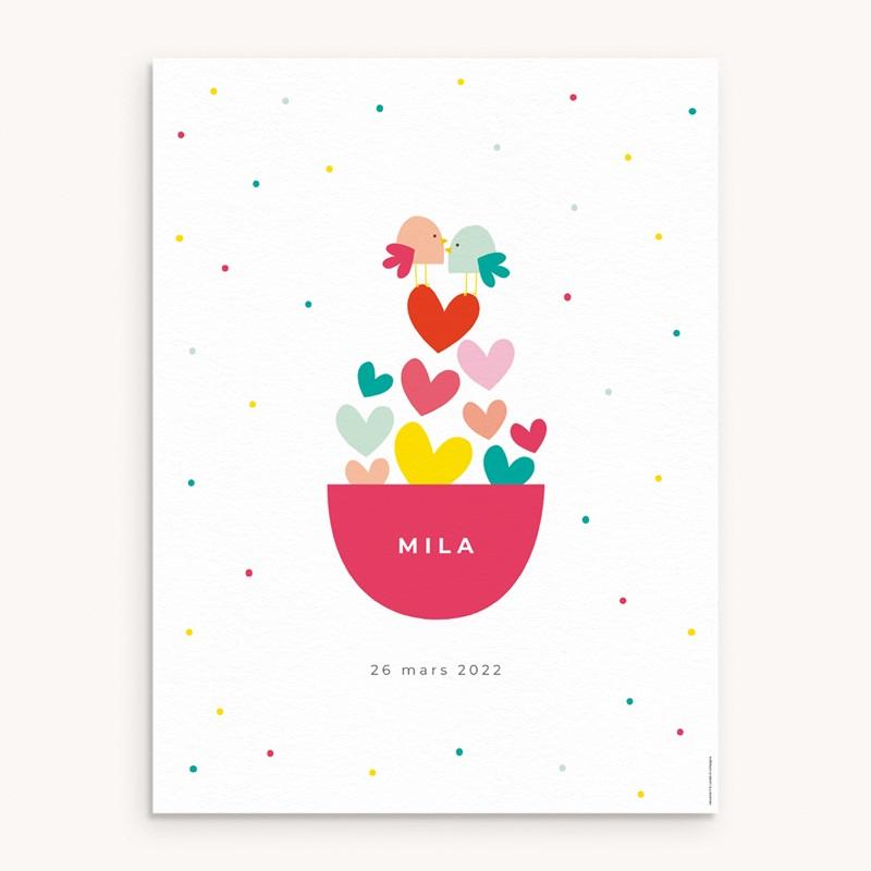Affiche Déco Chambre Enfant Dose d'amour