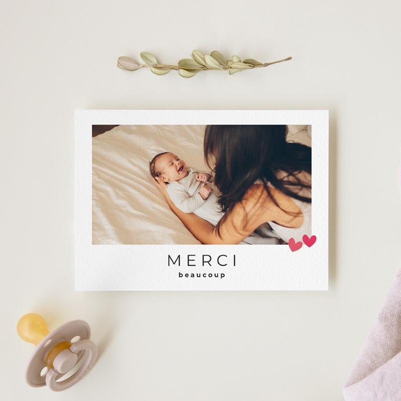 Carte de Remerciement Naissance Dose d'amour