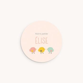Sticker Enveloppe Naissance Candy pas cher