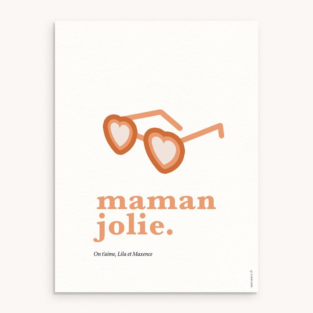 Affiche Déco Original Jolie Maman
