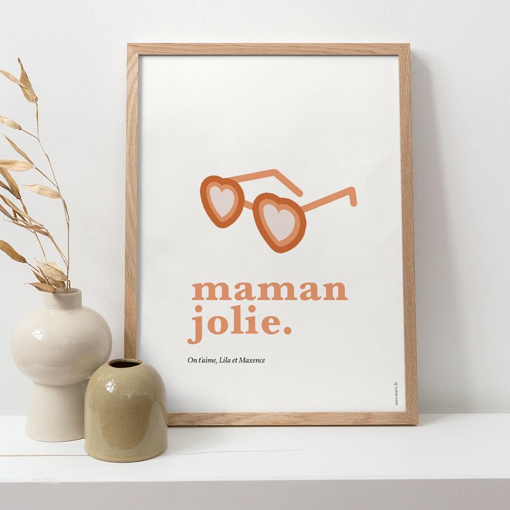 Affiche Déco Original Jolie Maman pas cher