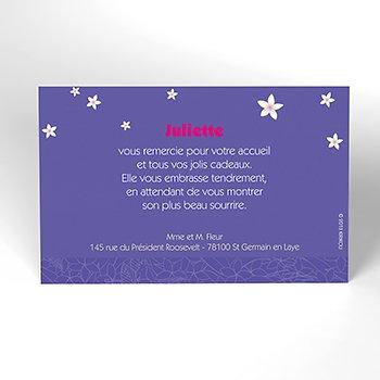 Carte de Remerciement Naissance Kirikou 1 pas cher
