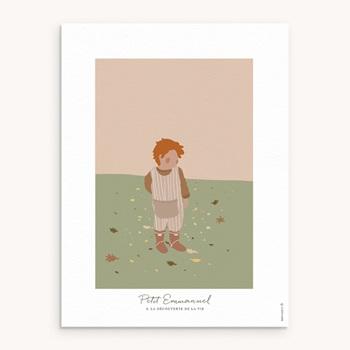 Affiche Déco Chambre Enfant - Petit Rouquin - 0
