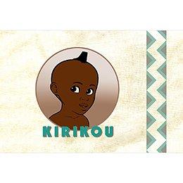 Faire-part de Naissance Kirikou 4 pas cher