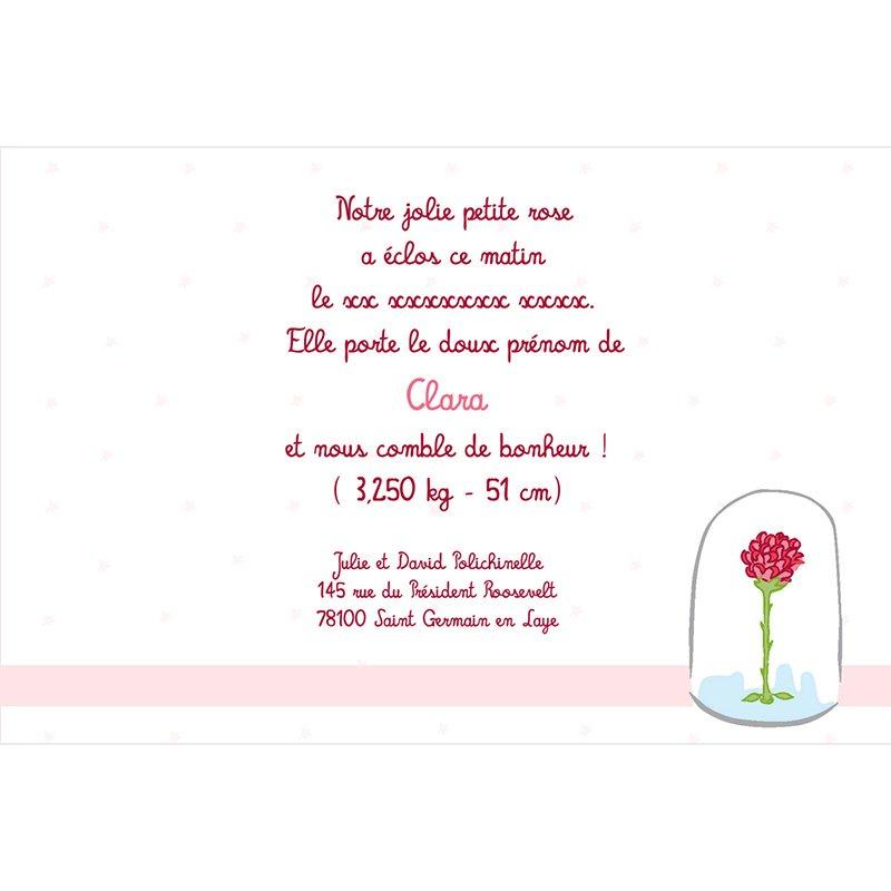 Faire-part de Naissance Le Petit Prince 9