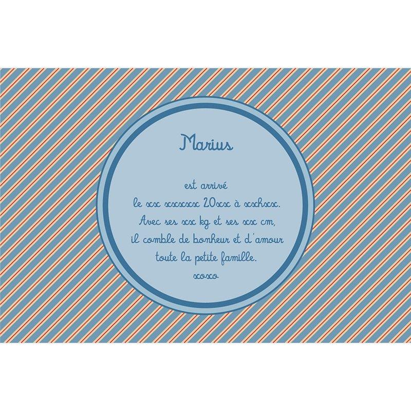 Faire-part de Naissance Le Petit Prince 19