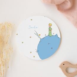 Faire-part de Naissance Le Petit Prince La Planète bleue du Petit Prince, 14 x 14 cm gratuit