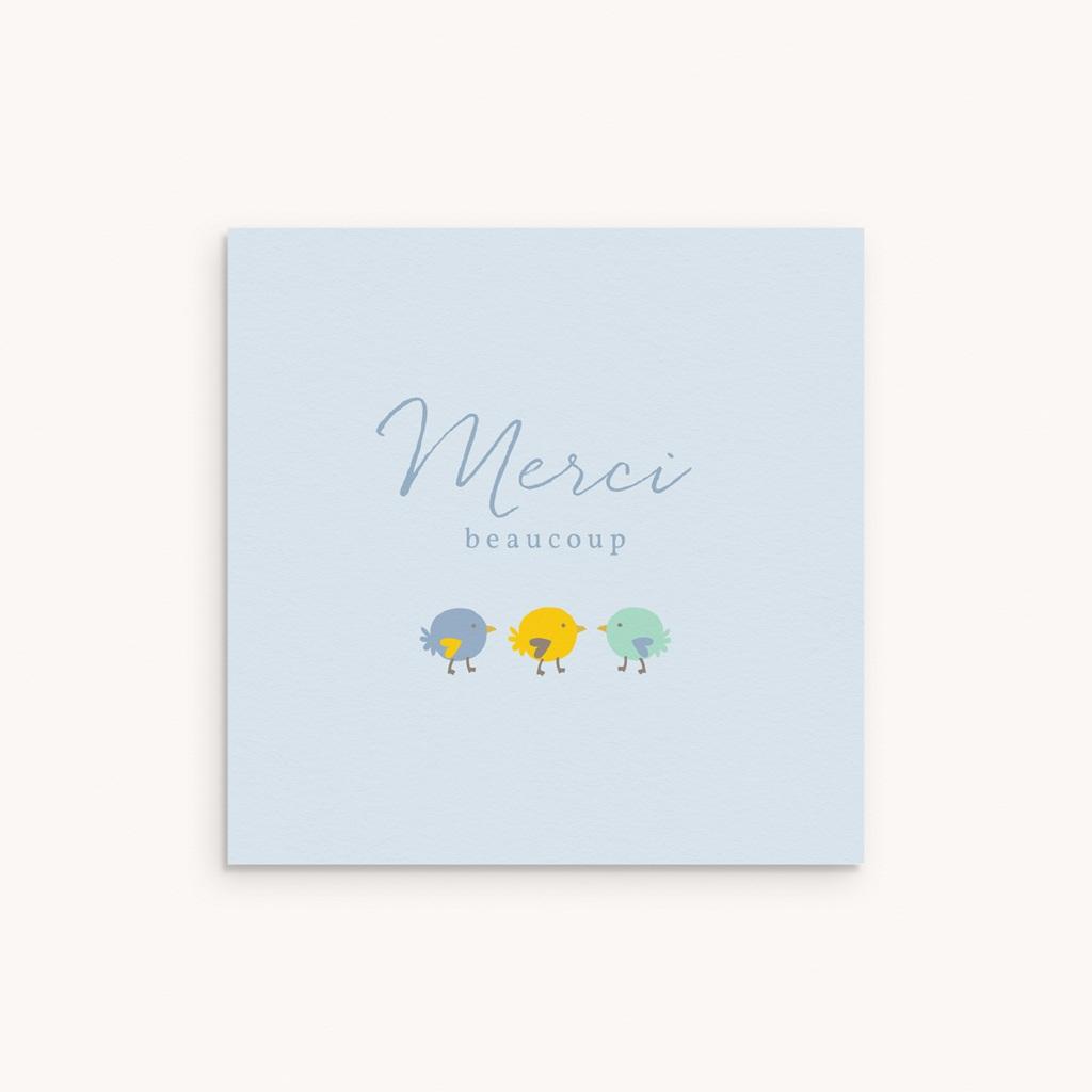 Carte de Remerciement Naissance Candy garçon