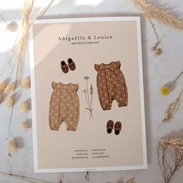 Affiche Déco Chambre Enfant Garde-robe jumelles, 30 x 40 gratuit