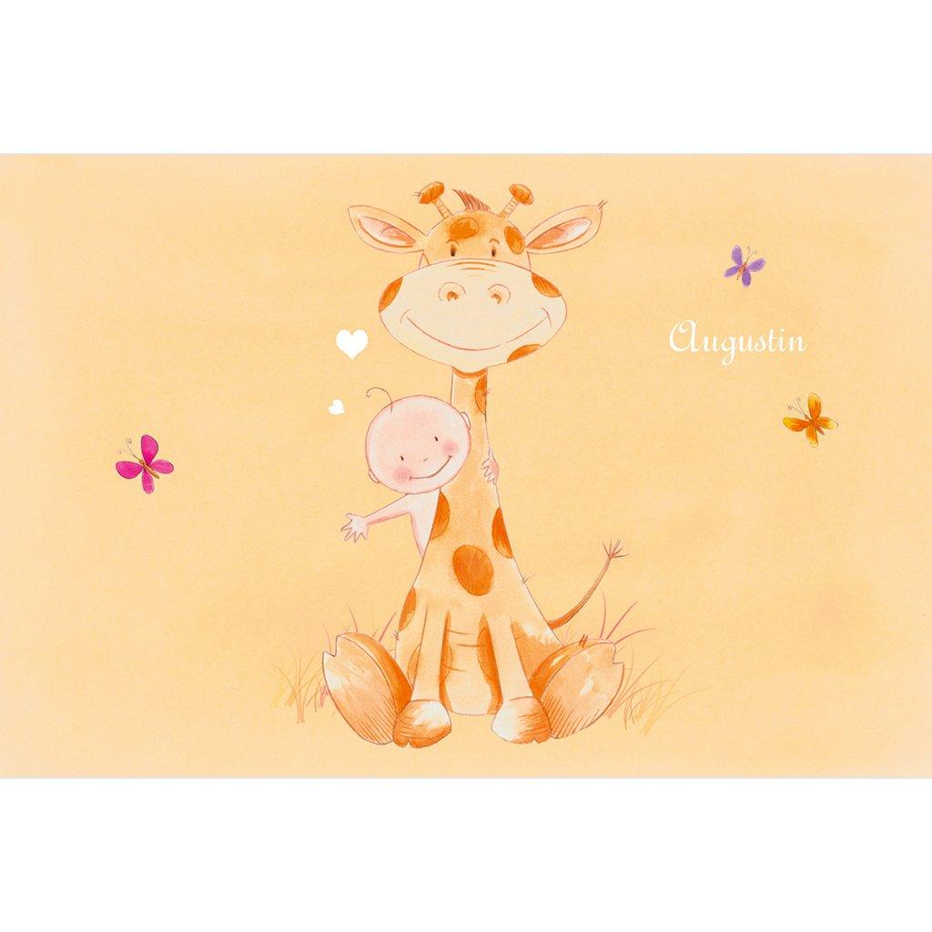 Faire-part de Naissance Girafe pas cher