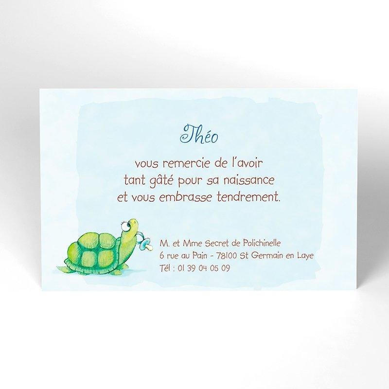 Carte de Remerciement Naissance Kangourou