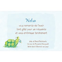 Carte de Remerciement Naissance Kangourou pas cher