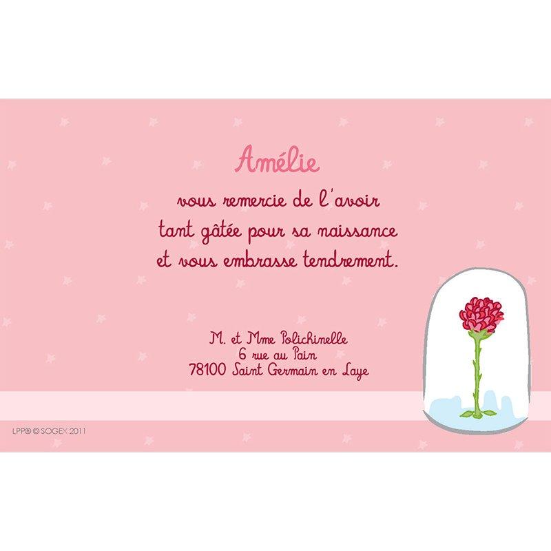 Carte de Remerciement Naissance Le Petit Prince 9 pas cher