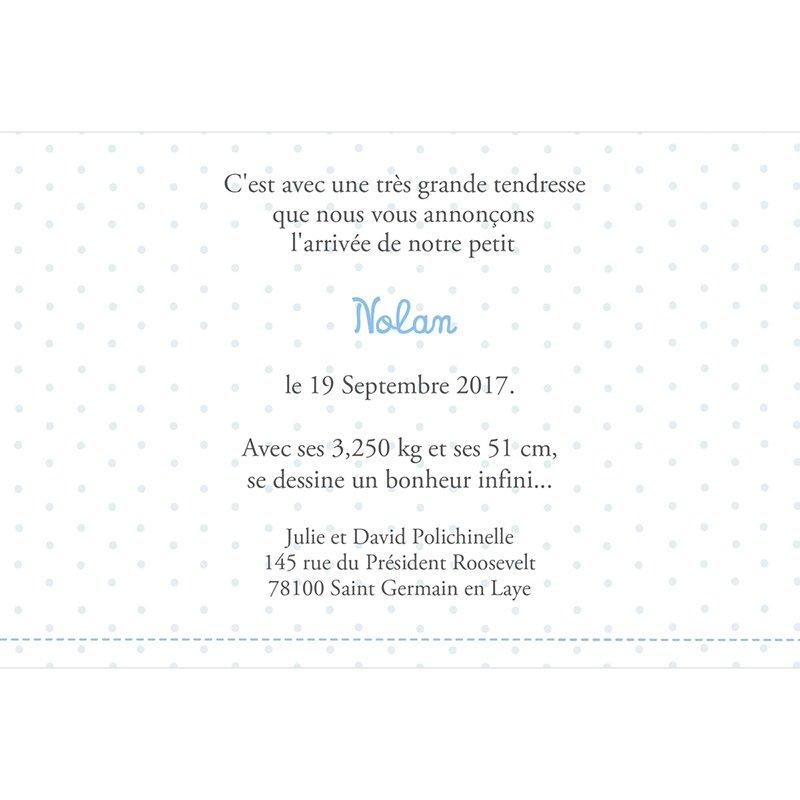 Faire-part de Naissance Le Petit Prince 3