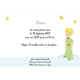 Faire-part de Naissance Le Petit Prince 6