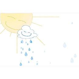 Faire-part de Baptême Jour de Soleil gratuit
