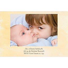 Faire-part de Naissance Roller grande soeur bébé garçon gratuit