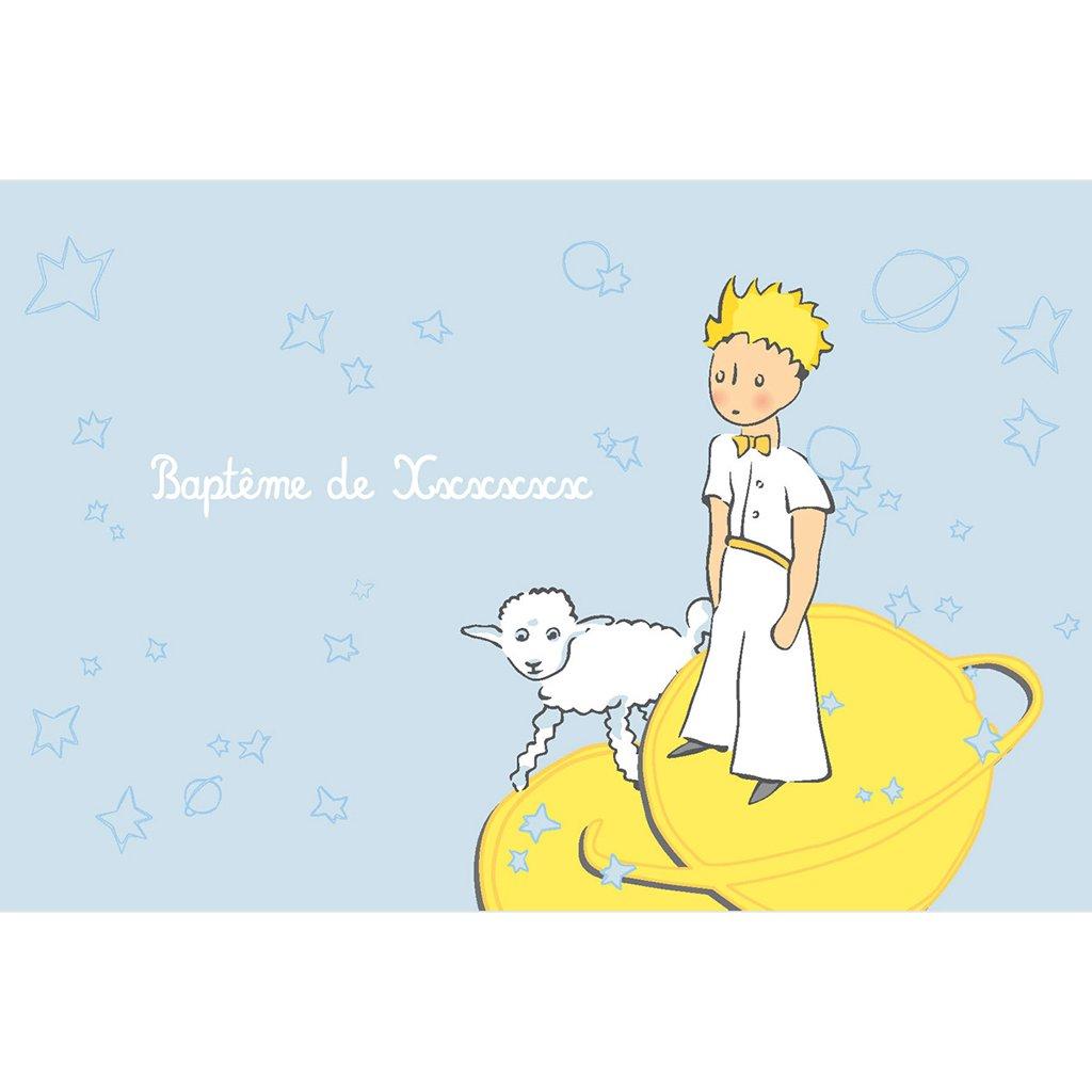 Faire-part de Baptême Le Petit Prince 10 Baptême pas cher