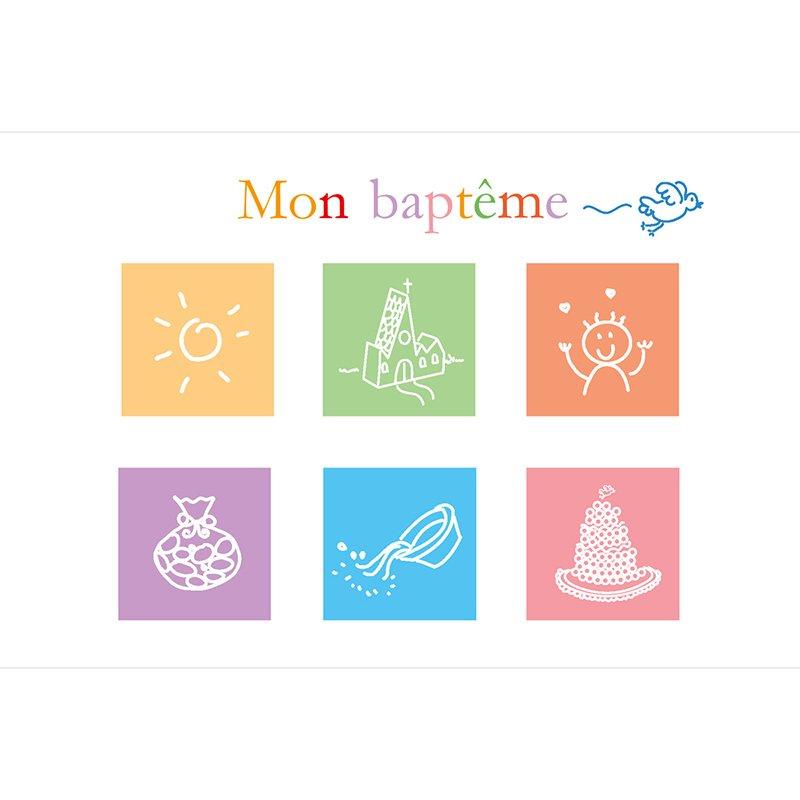 Faire-part de Baptême Jour de Fête pas cher
