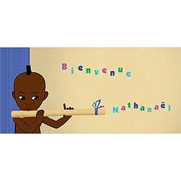 Faire-part de Naissance Kirikou 14 garçon pas cher