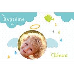 Faire-part de Baptême Baptême de l'air pas cher