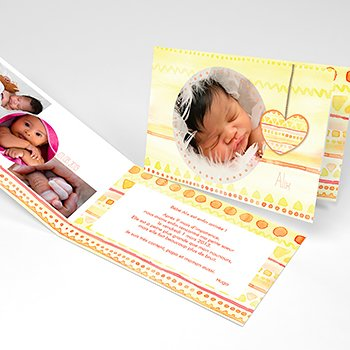 Faire-part de Naissance Machu Pitchoune original