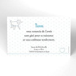 Carte de Remerciement Naissance Le Petit Prince 3