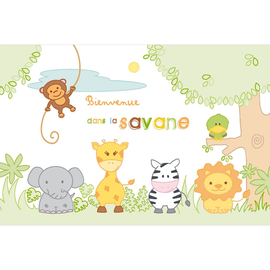 Faire-part de Naissance La Savane