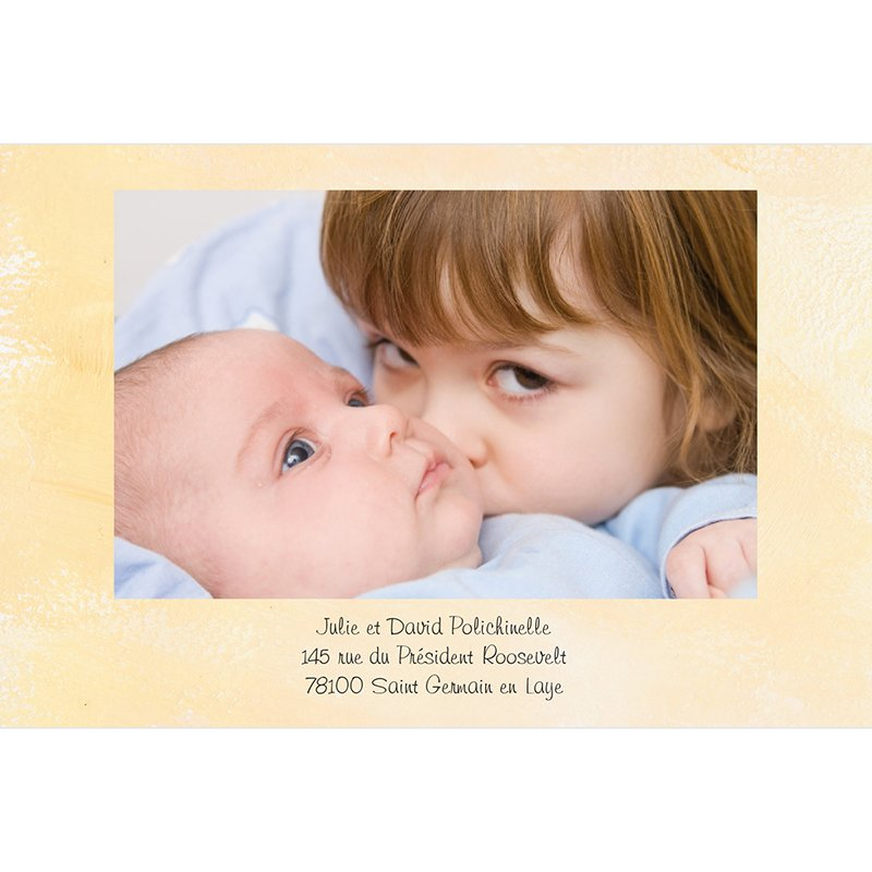 Faire-part de Naissance Roller grand soeur bébé fille gratuit