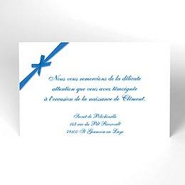 Carte de Remerciement Naissance Tétines