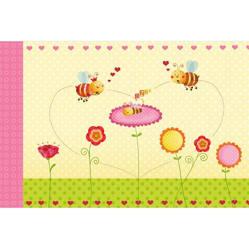 Faire-part de Naissance Honey rose pas cher