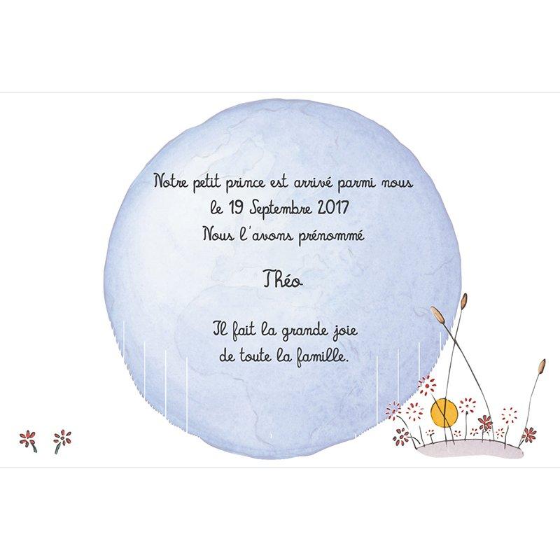Faire-part de Naissance Le Petit Prince 8
