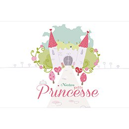 Faire-part de Naissance Petite Princesse pas cher