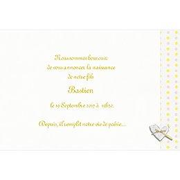 Faire-part de Naissance Bouton d'Or