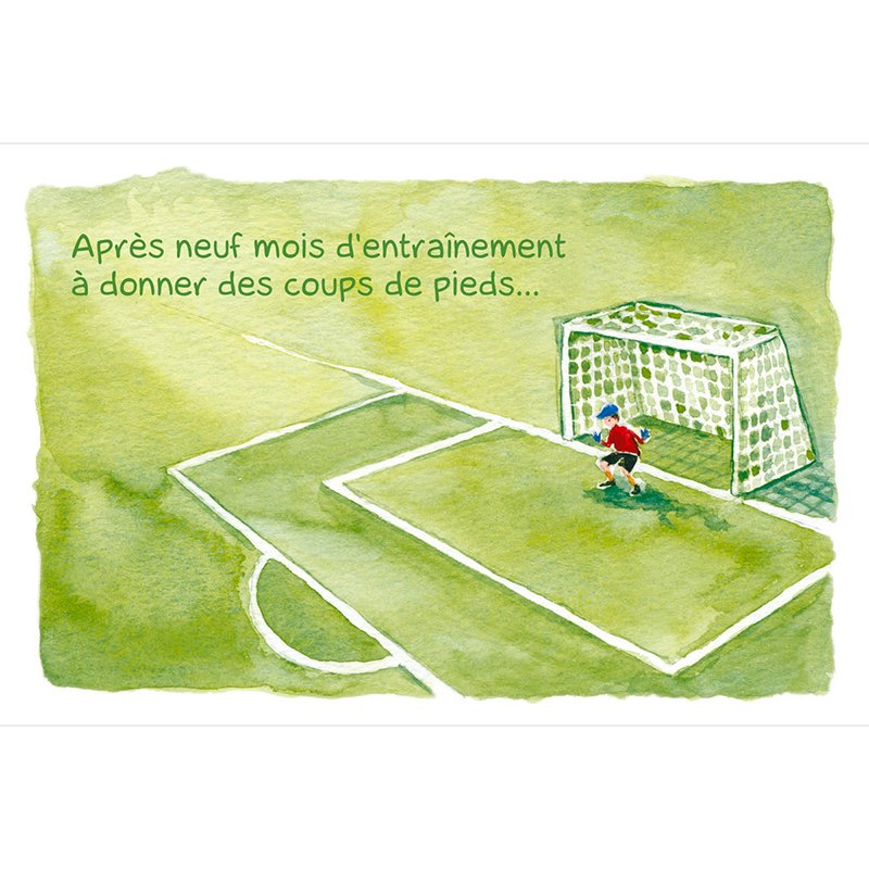 Faire-part de Naissance Football gratuit