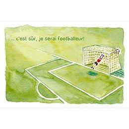 Faire-part de Naissance Football