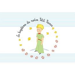 Faire-part de Baptême Le Petit Prince 6 baptême pas cher