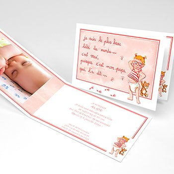Faire-part de Naissance Graine de star original