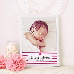 Affiche Déco Bébé Love pas cher