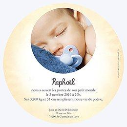 Faire-part de Naissance Le Petit Prince 12 gratuit