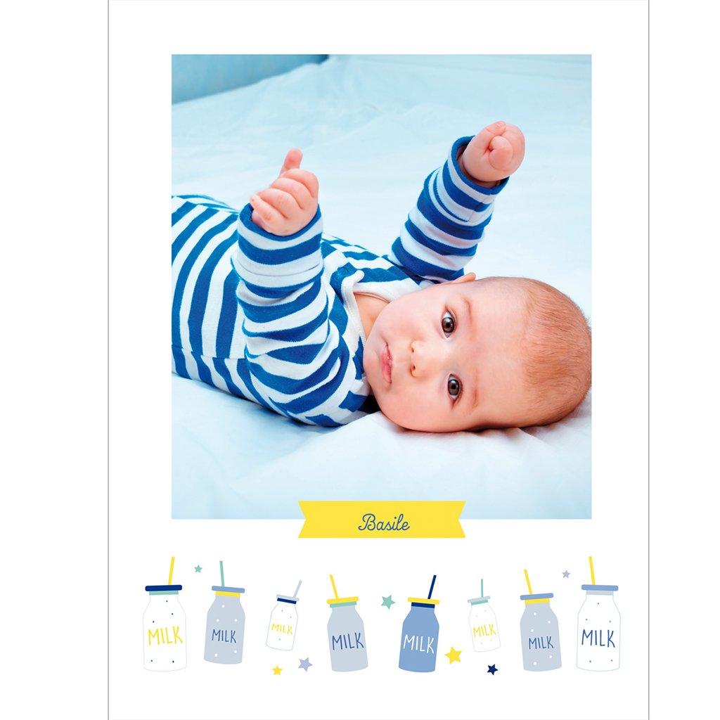 Affiche Déco Bébé Milk pas cher