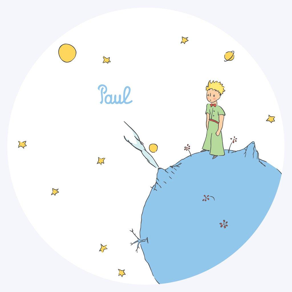 Faire-part de Naissance Le Petit Prince 1 pas cher
