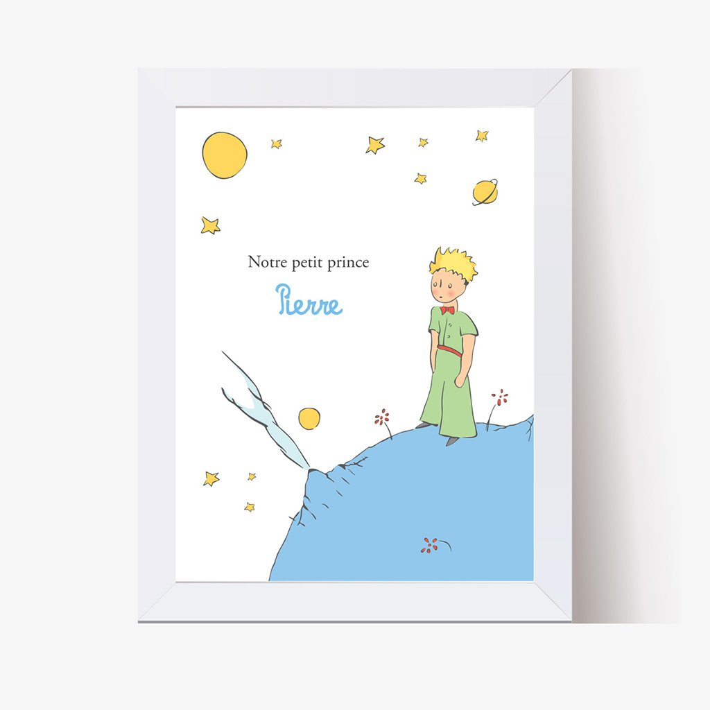Affiche Déco Bébé Le Petit Prince 1