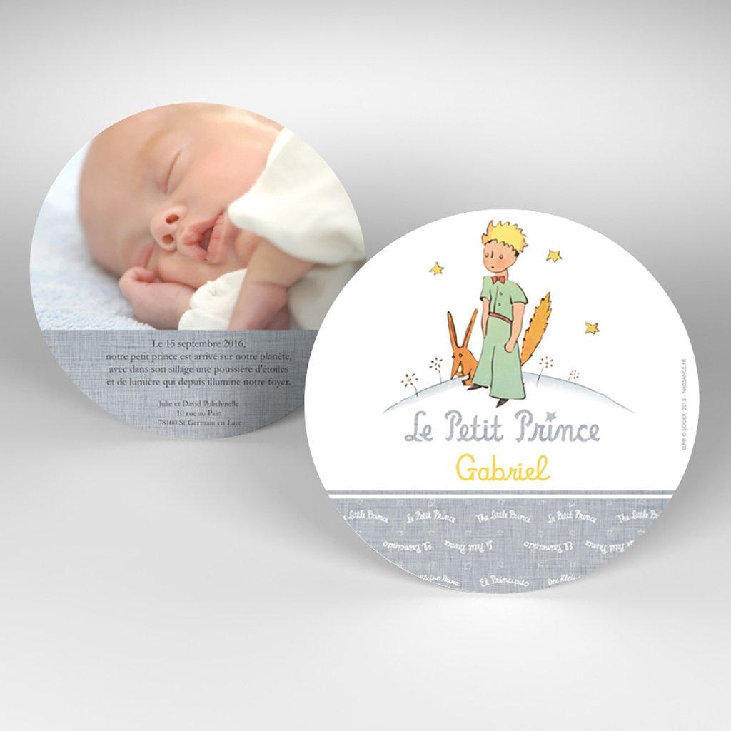Faire-part de Naissance Le Petit Prince 14